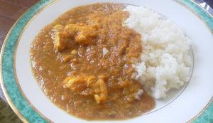 Cooking:麦御飯と手作りカレー