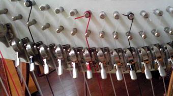 理想的な調弦 (レバーの状態)
