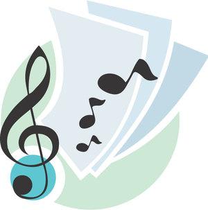 ピアノ譜やコード譜を、小型のハープで弾く方法①