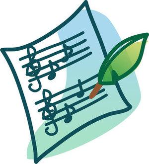 ピアノ譜やコード譜を、小型のハープで弾く方法②(続き)