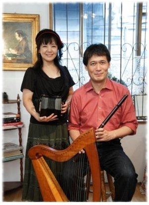 アイルランド音楽ならこのお方 守安功さん・雅子さんのコンサート