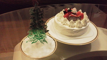 昨夜のクリスマスと今月のハープ楽譜について