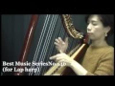 小型ハープ楽譜動画 ベニスの謝肉祭、シューベルトの鱒