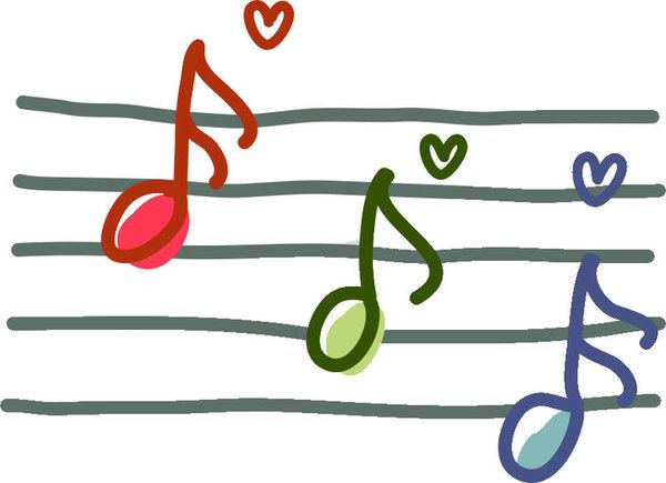 楽譜をまとっているウキウキ感って何でしょう