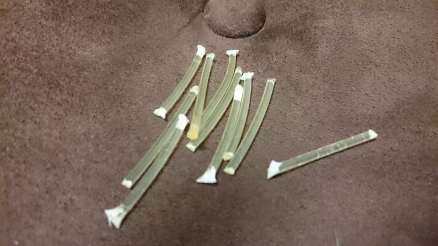 グランドハープのガット弦 余った弦の使い道色々
