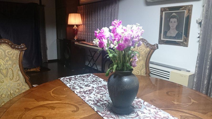 日記:花瓶を頂く。