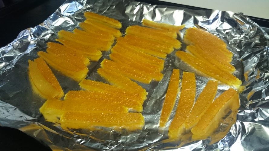 Cooking:ハッサクピールを作る