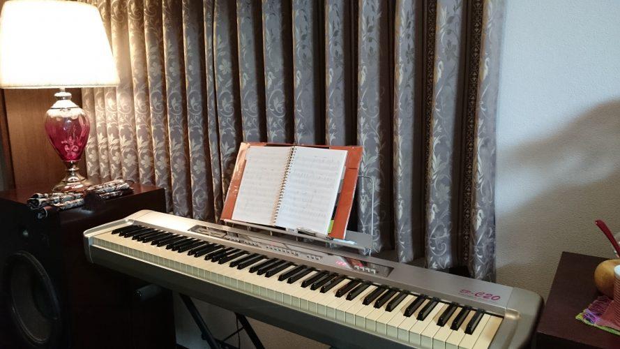 ハープ楽譜制作中です。