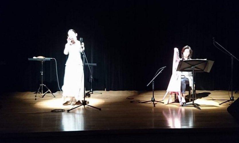 オカリナ ホンヤミカコさんコンサートサポートと禁煙記念夜ご飯