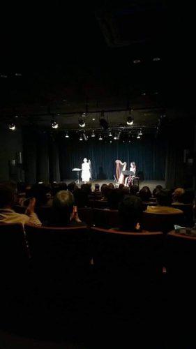 ホンヤミカコさんコンサート 34弦のアイリッシュハープでサポート 愛媛県東温市