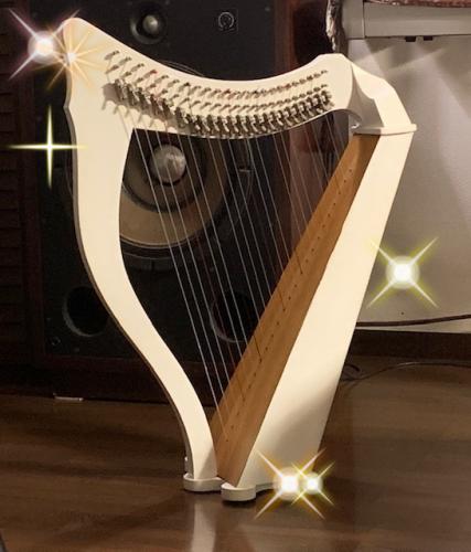 小型ハープ用楽譜 動画 魅惑のワルツ