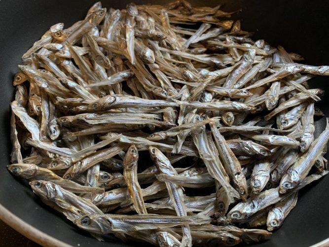 Cooking:おやつを作る サクサク食感の小魚おやつ