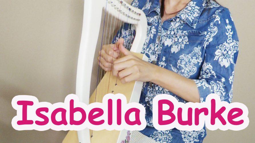 12弦のベイビーハープ動画 オカロランの【Isabella】