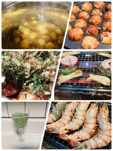 Cooking:弟&姉